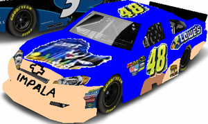 2002 #48 Lowe's-Tweety and Sylvester Chevrolet by Kimba207