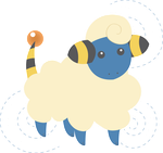 Mareep by technicolorblackout