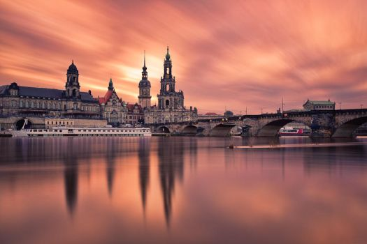 Historic Center of Dresden by hessbeck-fotografix