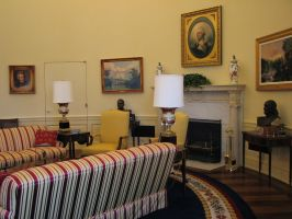 Free Oval Office Stock 5 by tursiart