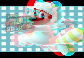 Mario Bros - Wallpaper - in Real D - ((( 3D ))) by I-G-imagination