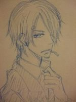 Sketch: Sanji by Na-Mori