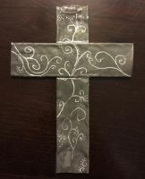 Organ Pipe Cross with Filigree by xofox