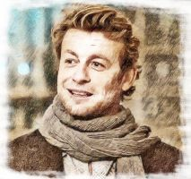 Patrick Jane draw light colour by Cyberax666