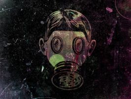Old School Gas Mask by SPikEtheSWeDe