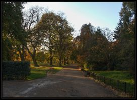 Sunset in Hyde Park 2 by Isyala