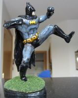 The Batman - Finished Sculpture by StuSwensen