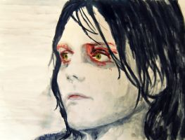 Gerard Way [Watercolour] by EvaFaithHorror