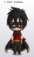 young justice robin chibi style by MAHGOL-DC-LOVER