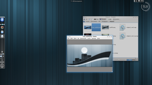 KDE Plasma 4.9 by white-dawn
