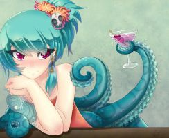 Care for a drink? by lilnevie