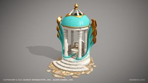 Temple of wind by ogami3d