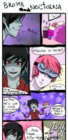 marshallxgumball-broma nocturna by Danny-chama