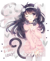Happy B-day big sis! by sweeteaa-chii