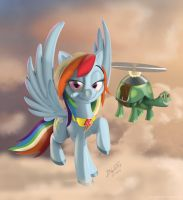 Rainbow Dash by TavoGDL