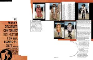OR MAGAZINE SPREAD b by somethingwittyhmmm