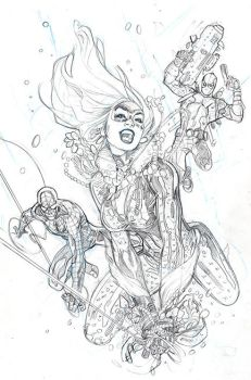 Amazing Spider-Man #1 Variant Cover Pencil by TerryDodson