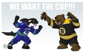 We Want The Cup!! by jmh3k