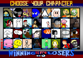 THE LOST TOURNAMENT ROSTER by WINNINGisforLOSERS