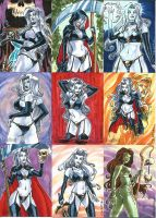Lady Death 2 Sketch Cards 03 by Celestial4ever