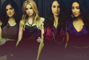 Pretty Little Liars by DivAGFX