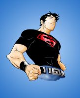 Superboy Colored by Comicfanatic83