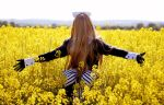 yellow field by cee-chan26