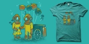 Balloonfish Vendor t-shirt by biotwist
