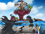 Welcome to the World of the Plastic Beach by VitoAvaritia