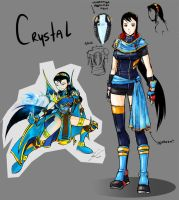 Krowzi's Re-Designs: Crystal by NewEraOutlaw