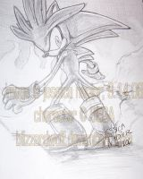 Silver pencil drawing. by BlizzardWolf