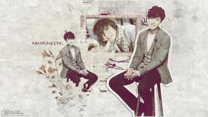 Kim Hyun Joong Wallpaper .3 by demeters