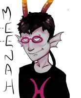 Meenah is a BAMF by Sauky