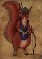Hetty of Redwall by EmiliAlys