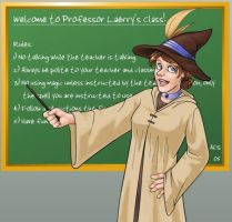 It's Hogwarts world me . . . by laerry