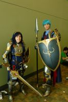 Otakon 2013 Cosplay - Knightly Guards by LordNobleheart