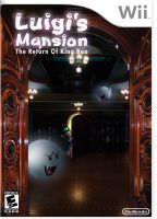 Luigi's Mansion 2 Cover Art by ColonelMustang