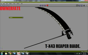 T-X43 Reaper Blade by ownerfate