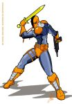Deathstroke the Terminator by Inspector97