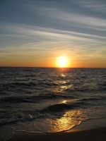 Cape Cod Bay Sunset by ginganinja701