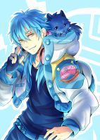 DMMD postcards (Aoba) by Evil-usagi