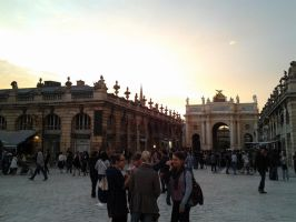 Place Stanislas at Dawn, 2 by sharayanan