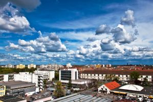Timisoara and clouds by Arth72