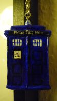 Tardis necklace by Ithiliel-o-Gondolin