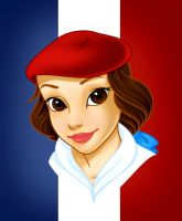 France - Belle by PurePeachy