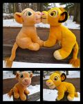 2011 Kissing Simba And Nala Set for Sale by DoloAndElectrik