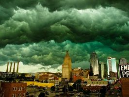 Storm in Kansas City by ThisOrdinaryChick
