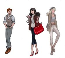 Archie Characters by moritat