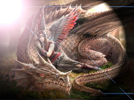 Anne Stokes Dragon by GraveRobberFang