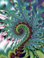 Viral Spiral # 23 by 2BORN02B